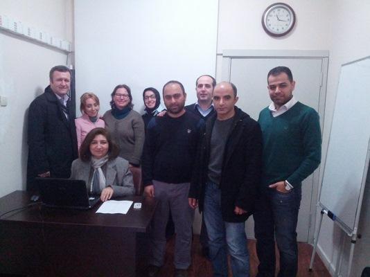 Bölüm Başkanımız Prof. Dr. Ayşen BAKİOĞLU ile Eğitim Yönetimi ve Denetimi Doktora Programı, Eğitimde Kariyer Geliştirme dersinden bir anı. 30 Aralık 2013