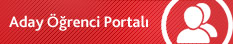 Aday Öğrenci Portalı