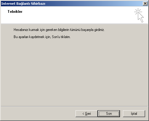 Türkçe Windows üzerinde Outlook Express