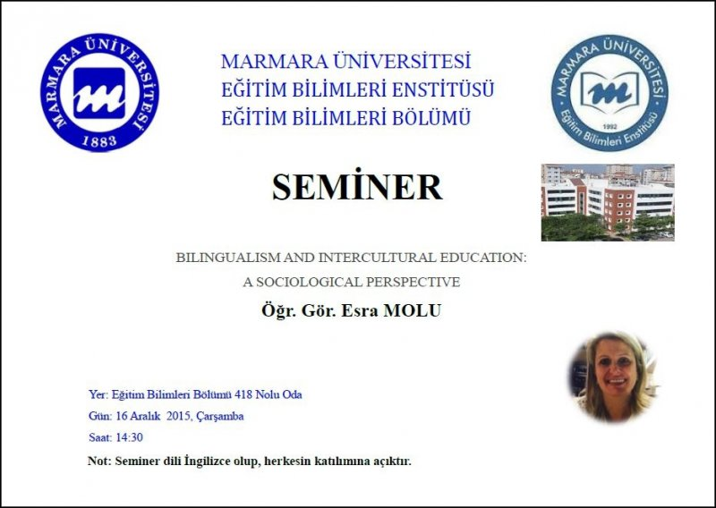 BILINGUALISM AND INTERCULTURAL EDUCATION:A SOCIOLOGICAL PERSPECTIVE