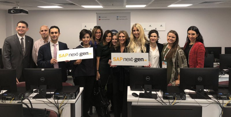 Marmara İşletme - SAP Next Gen Lab