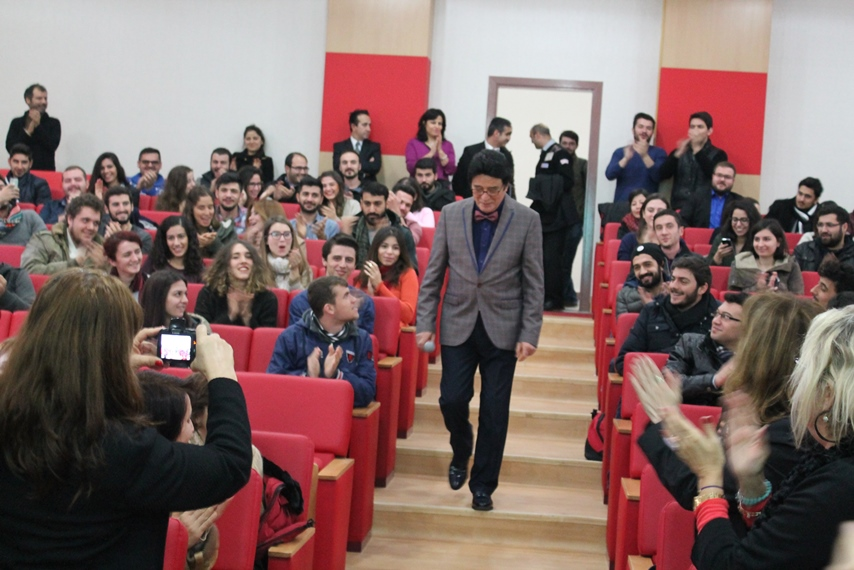 Sn. Erol Büyükburç Marmara Üniversitesi İşletme Fakültesinde