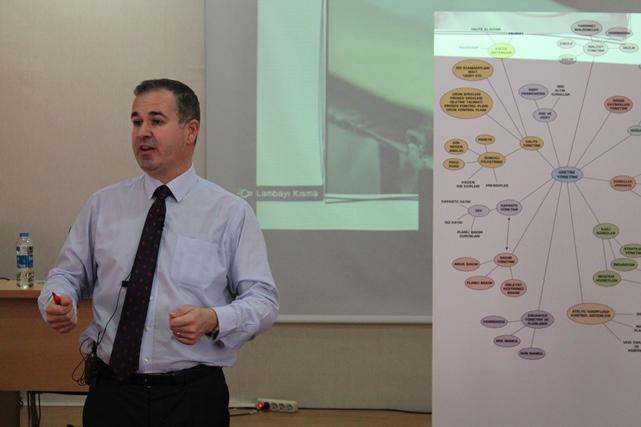 Marmara Üniversitesi İşletme Fakültesi - Kordsa Global Genel Müdürü Cenk Alper