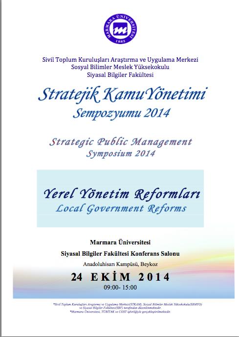 Stratejik Kamu Yönetimi Sempozyumu 2014