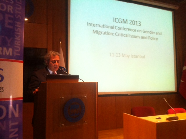 Rektrmz Prof. Dr. M. Zafer Gl, &#34;Gender and Migration&#34; Konferansnn al konumasn yapt. 
