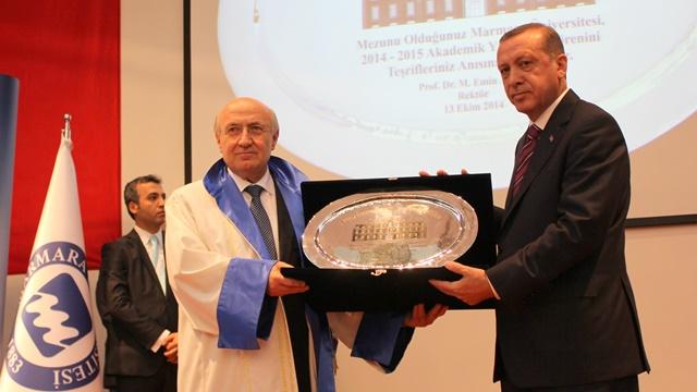 Marmara Üniversitesi 2014-2015 yılı Açılış Töreni