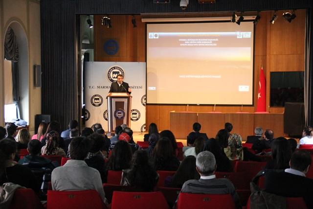 Marmara University Welcomed Architect Hakan Kıran.