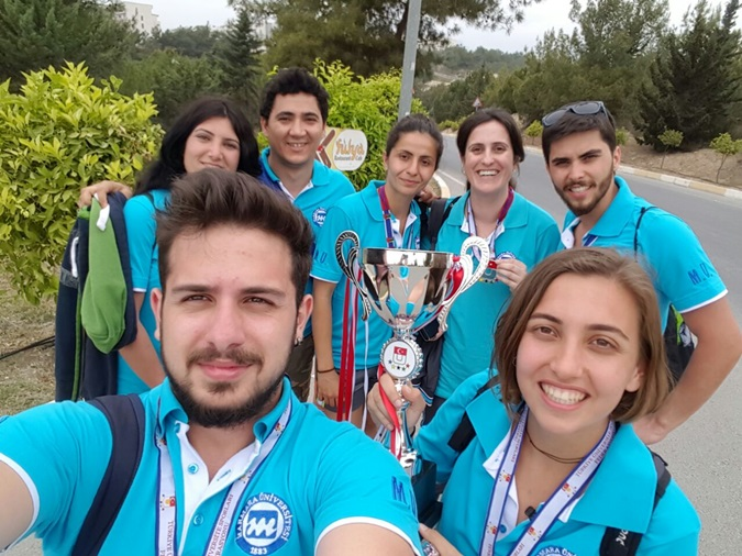 M.U. Orienteering Women Team Ranked 2nd at the Turkey Championship