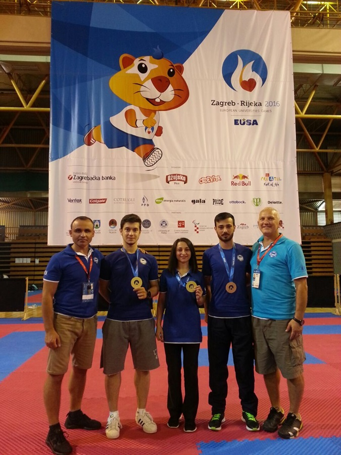 Marmara University Won Two European Championship