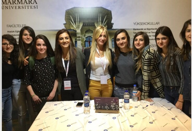 Marmara University are in Preferences Dates Fair