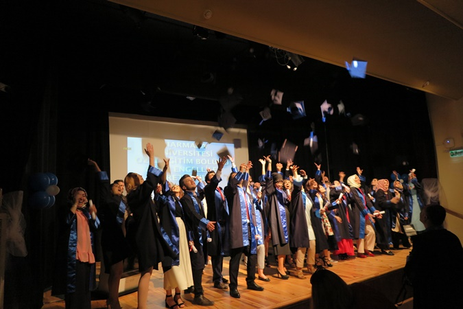 Graduation Ceremony Of Special Education Mentally Disabled Teacher Education