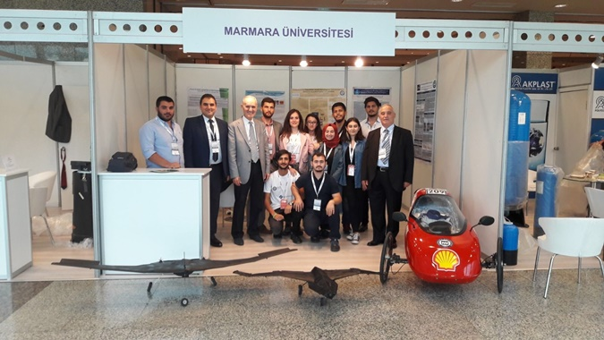 Metallurgy and Materials Engineering Department was at Turkish Composite 2017 Fair