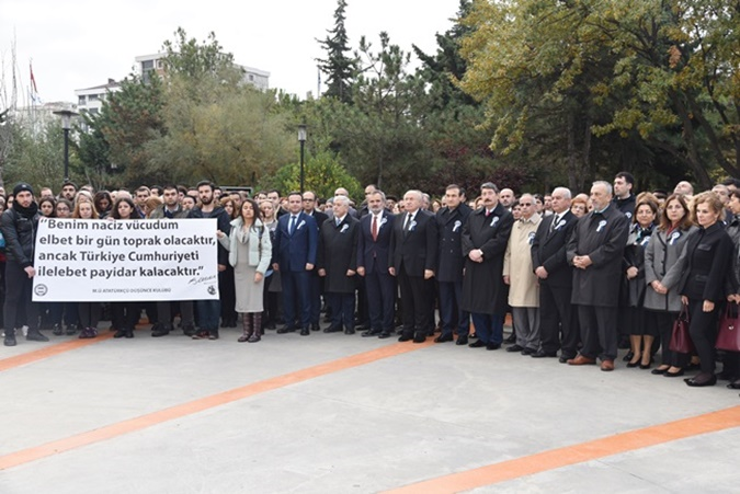 Commemoration Program of Founder of Turkish Republic  Mustafa Kemal Ataturk