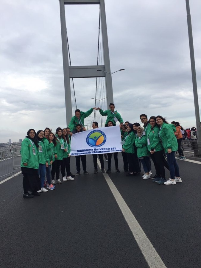 Young Innovative Health Providers Club Was in Istanbul Marathon