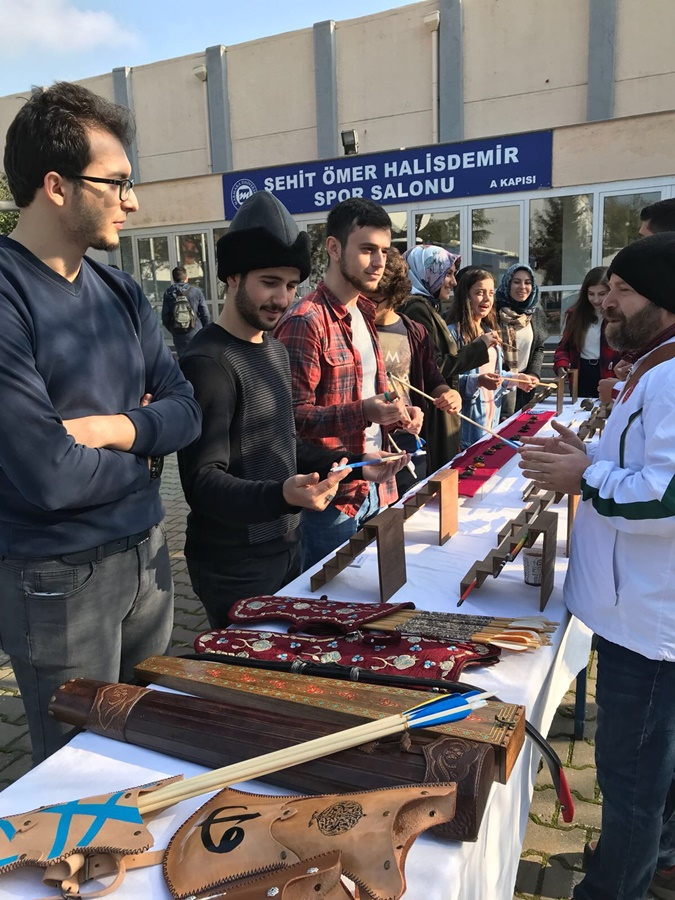 The Future Archery Masters Has Been Trained in Marmara University