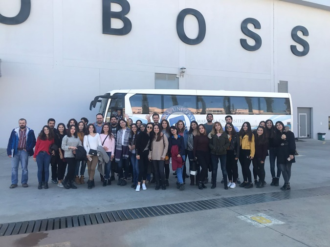 Uşak-İzmir Technical Trip from Textile Engineering Club