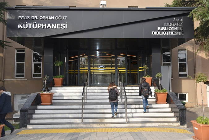 "3rd Generation University Library with Renovated Structure: ""Prof. Dr. Orhan Oguz Library """