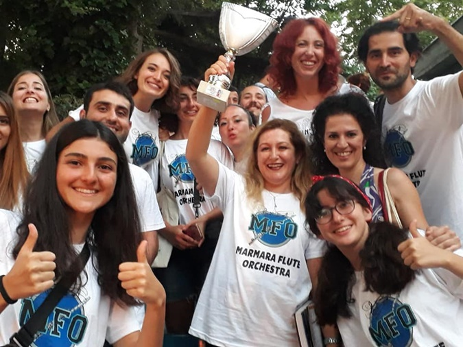 Two Awards for Marmara Flute Orchestra