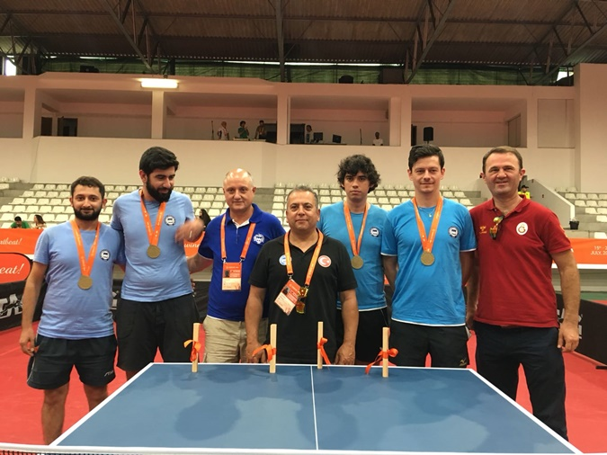 Faculty of Sports Sciences Table Tennis Team Came in Third in Europe