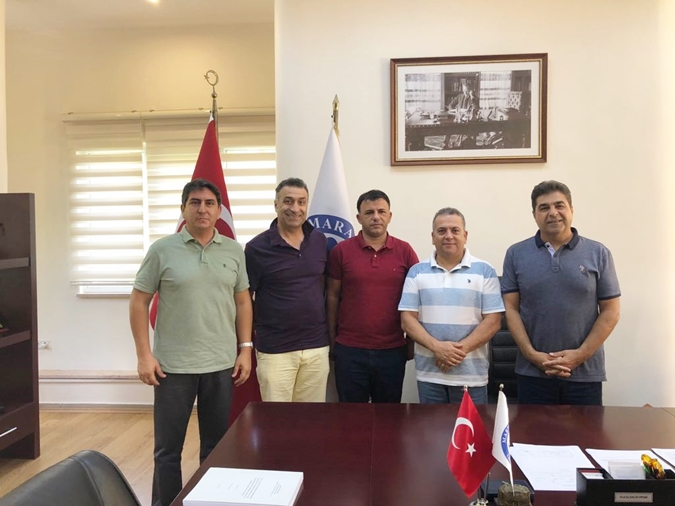 Macedonian Football National Team Technical Director Igor Angelovski visits Marmara University Faculty of Sport Sciences