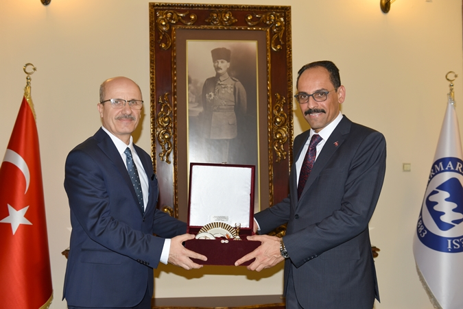 President's Spokesman Visited Our Rector