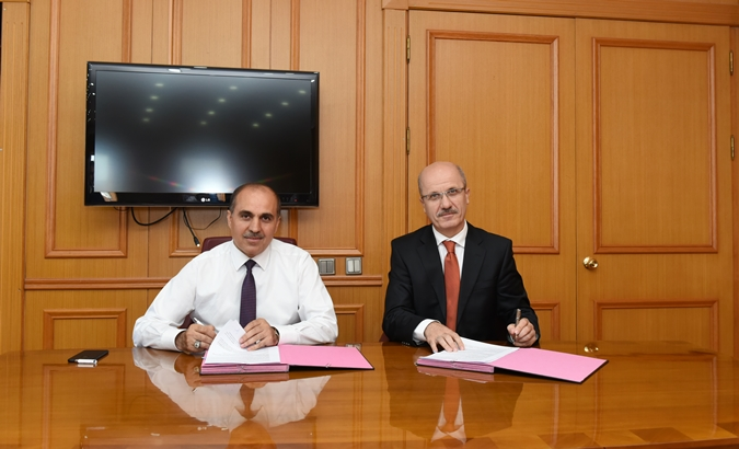 Protocol signed between Marmara University and PTT Anatolian Coastal Head Office