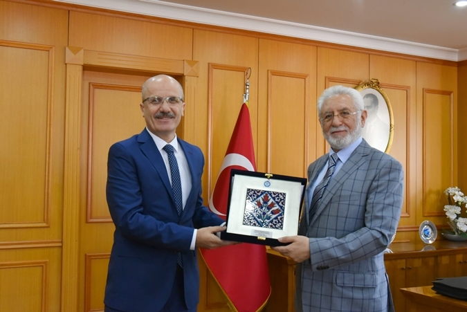 Rector of Mardin Artuklu University Prof.Ahmet Ağırakça visited our Rector