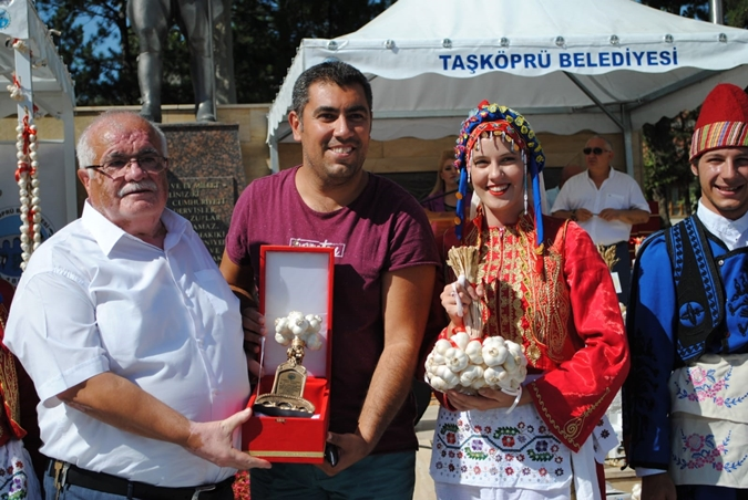 Marmara University Folklore Club At International Taşküpü Culture and Garlic Festival