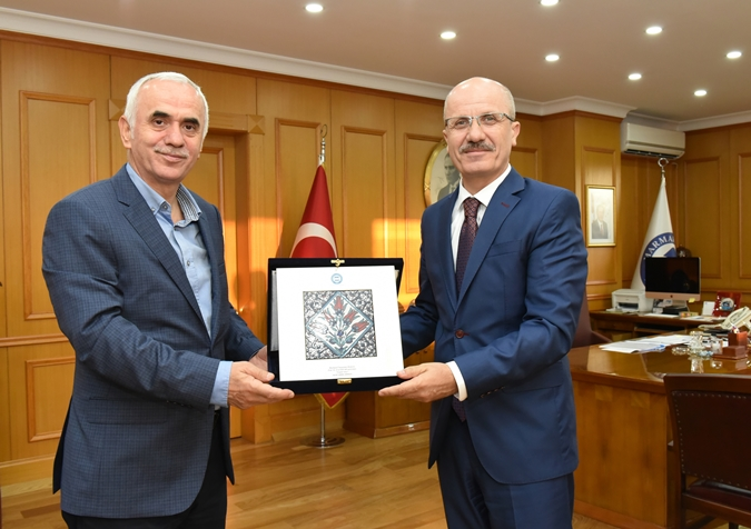 Ak Party Istanbul Deputy and Ak Party Deputy Chairperson Erol Kaya Visited our Rector