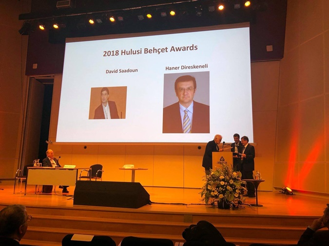 Faculty Member Wins the 2018 Hulusi Behçet Award