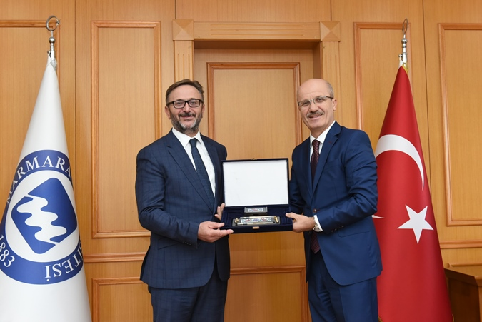Istanbul Provincial Culture and Tourism Director Visits Our University