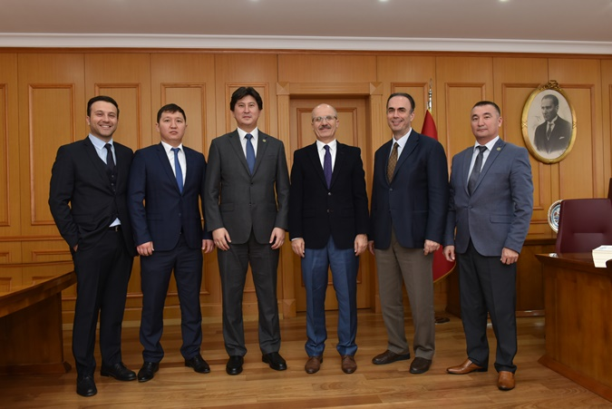 The Visit of Kazakhistan Yessenov University