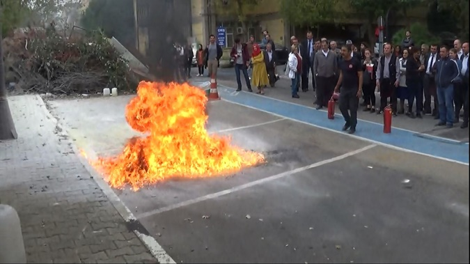 Fire Safety Training for the Personel of Marmara University