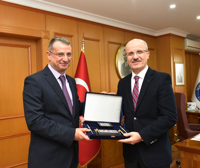 The Visit of Ahmet Yesevi International Turkish-Khzak University