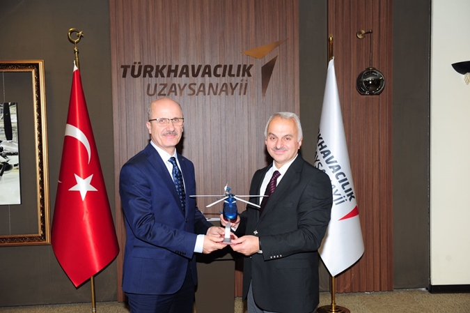 The Visit of Our University for Turkish Aerospace Industries Incorporation (TAI)