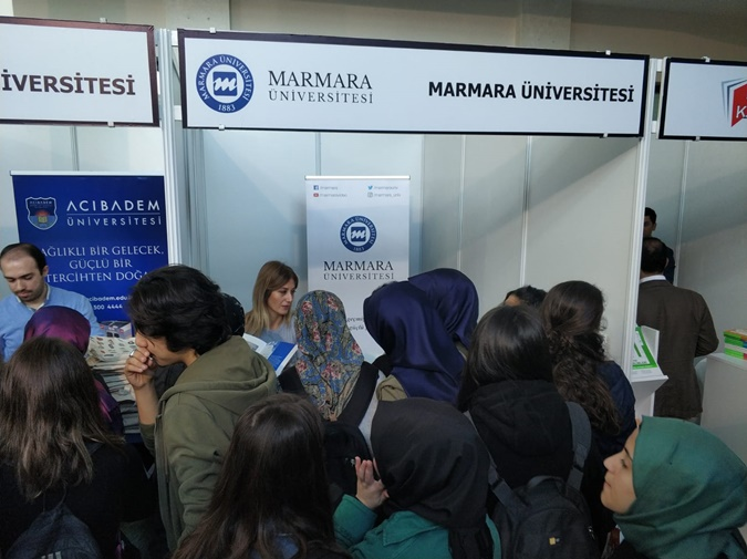 We Attend the Anatolian Side Education and Career Exhibition