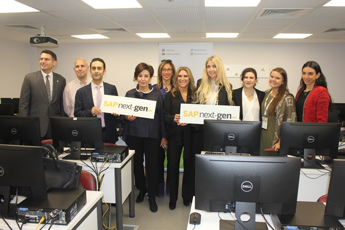 The First SAP Next-Gen Laboratoire of Turkey Opened at Marmara University