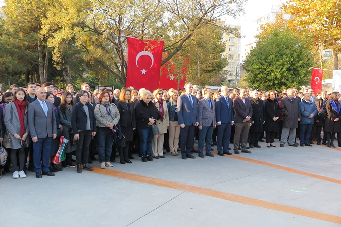 Commemoration Ceremony for Mustafa Kemal Atatürk On 10th November