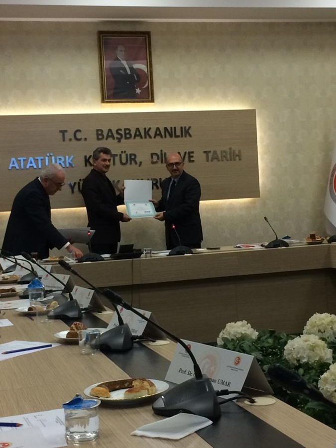 Assoc.Prof. Ali Satan Was Elected To The Atatürk Research Center