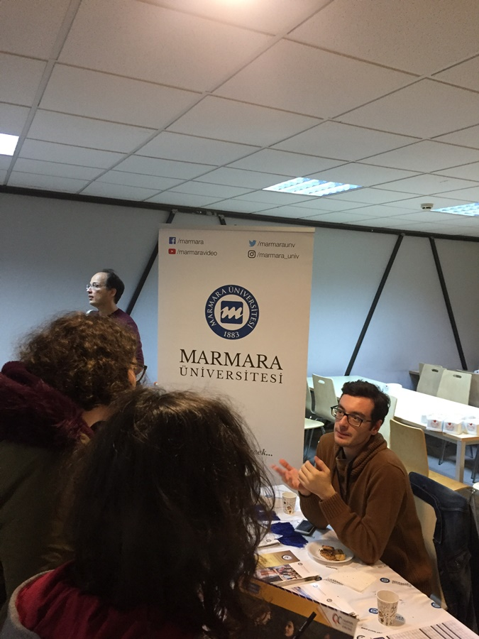 Marmara University Participated In the Career Days of the İTÜ Development Foundation Schools