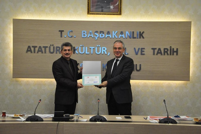 Prof. Dr. Rahmi    Deniz Özbay Was Elected as Principal Member of Science Board of Atatürk Research Centre