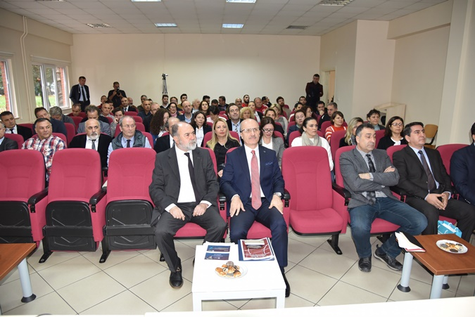 Faculty of Sport Sciences 2018-2019 Academic General Meeting Was Held With the Participation of Rector Prof. Dr. Erol Özvar