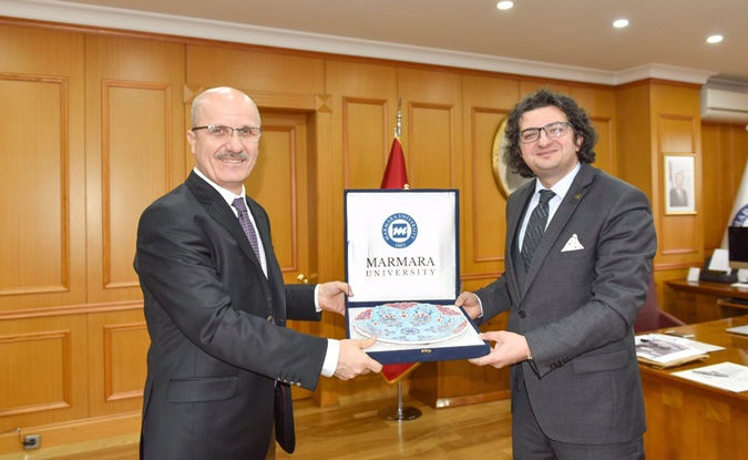 The Visit of Istanbul Boy's High School to Marmara University