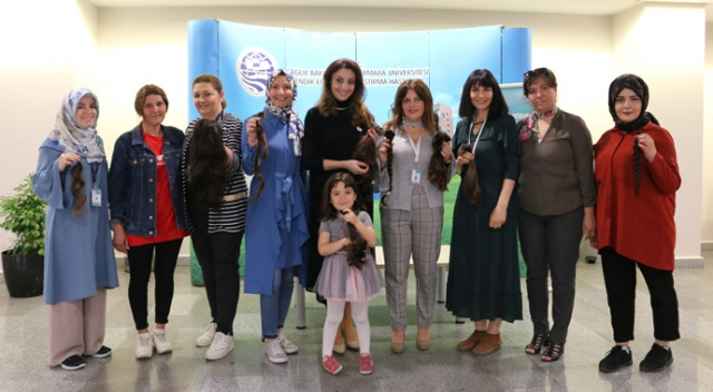 Hair Donation Campaign in Marmara University Pendik Education and Research Hospital