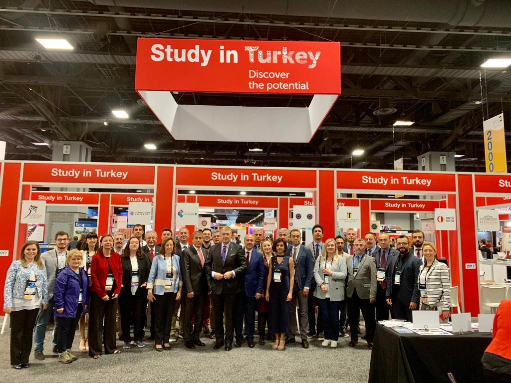 Marmara University Is At the NAFSA for the 4th Time