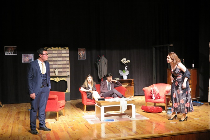 9. Village Art Club's Theater Staging