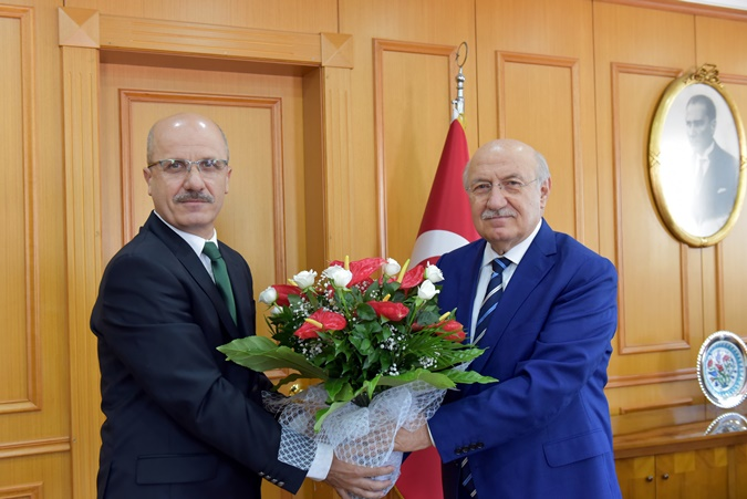 Rector's Handover Ceremony Was Held at Marmara University