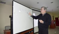 "Prof.Dr. Messoud Efendiev's ""Biology's Contribution to Mathematics"" Seminar Was Held"