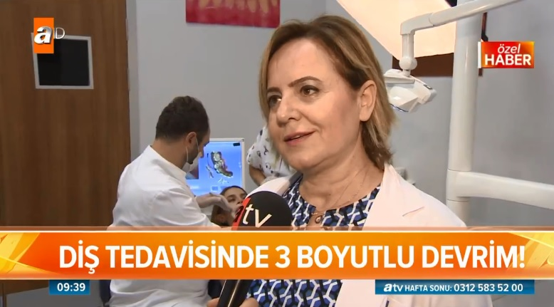 "Prof. Dr. Yasemin Özkan attended ""ATV Weekend"" Program"