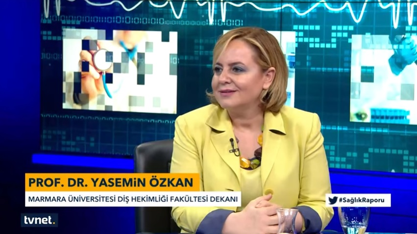 "Our Dean Professor Yasemin Özkan  Was A Guest  on ""Health Reports"" Program"